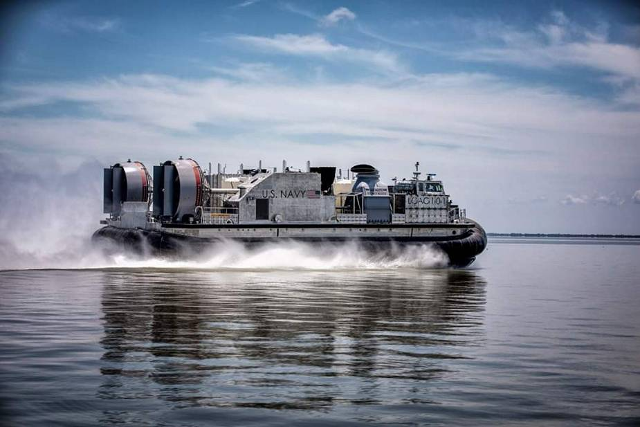 US Navy second Land Craft Air Cushion LCAC 101 completes acceptance trials 925 001