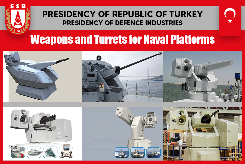 Analysis: Weapons and Turrets of Turkish Industry for Naval Platforms