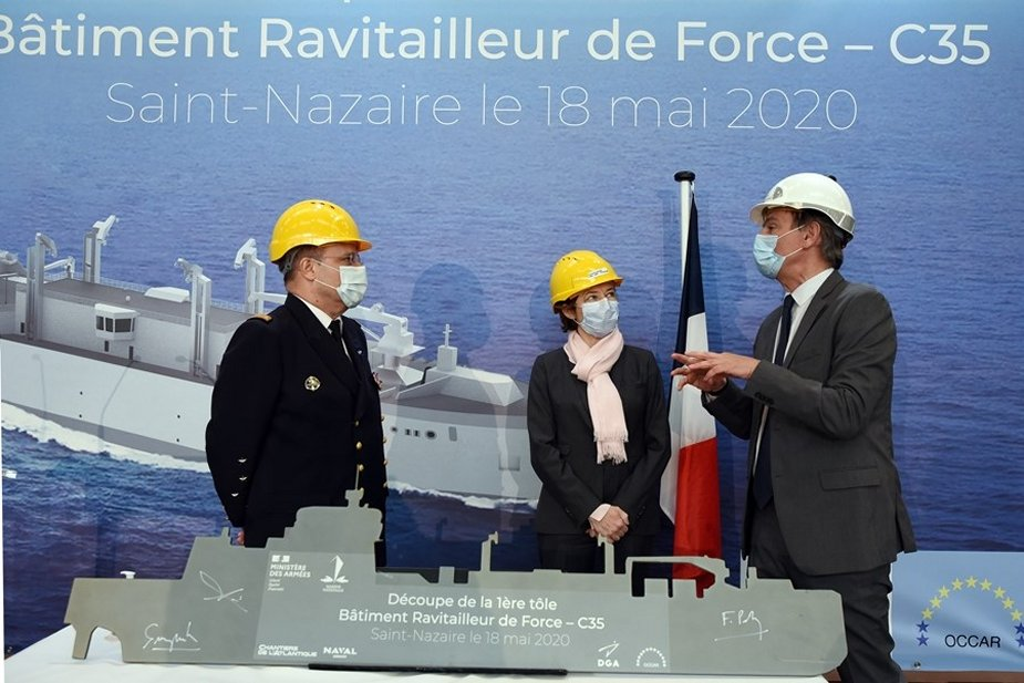 First New Replenishment Vessel's construction for the French Navy ...