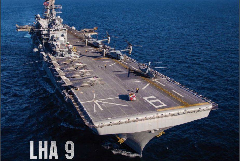 Huntington Ingalls Industries Wins 187M Navy Contract to Engineer Additional Amphibious Assault Ship 9258 001
