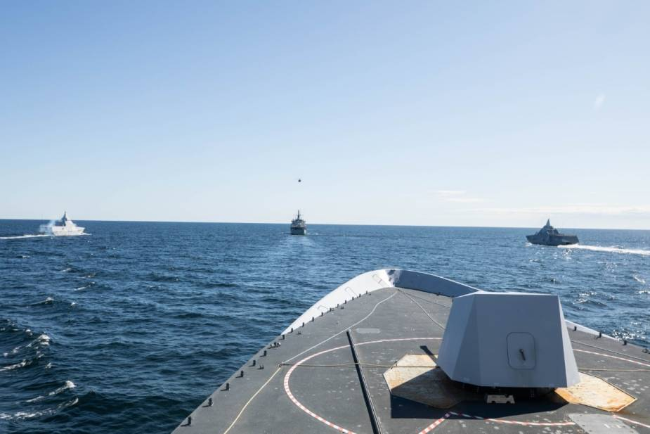 NATO joins Swedish naval exercise SWENEX in the waters of Skagerak and Baltic Sea 925 001