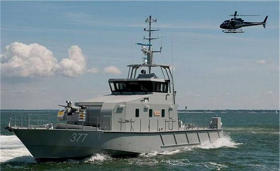 Nigerian Navy could take delivery of more FPB 72 patrol boats produced by OCEA 925 001
