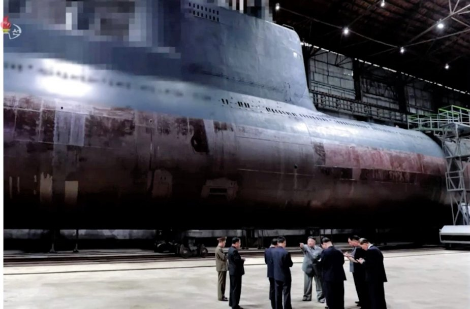 North Koreas next step launching of new heavily armed submarine 925 001