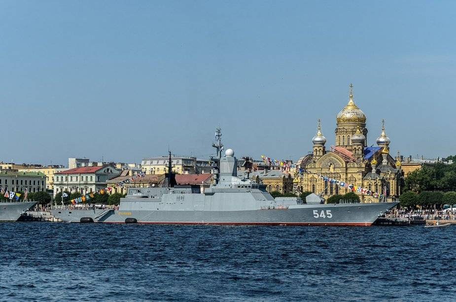 Russian Navy Black Sea fleet will get the Retivy corvette of project 20380 by the end of the year 925 001