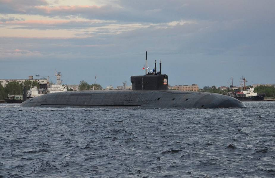 Russian Navy Knyaz Vladimir Project 955A Borei A class submarine completes sea trials 925 001