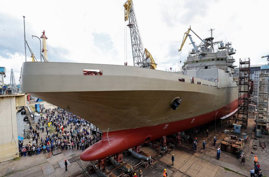 Russias latest amphibious assault ship to resume sea trials no sooner than late May 925 001