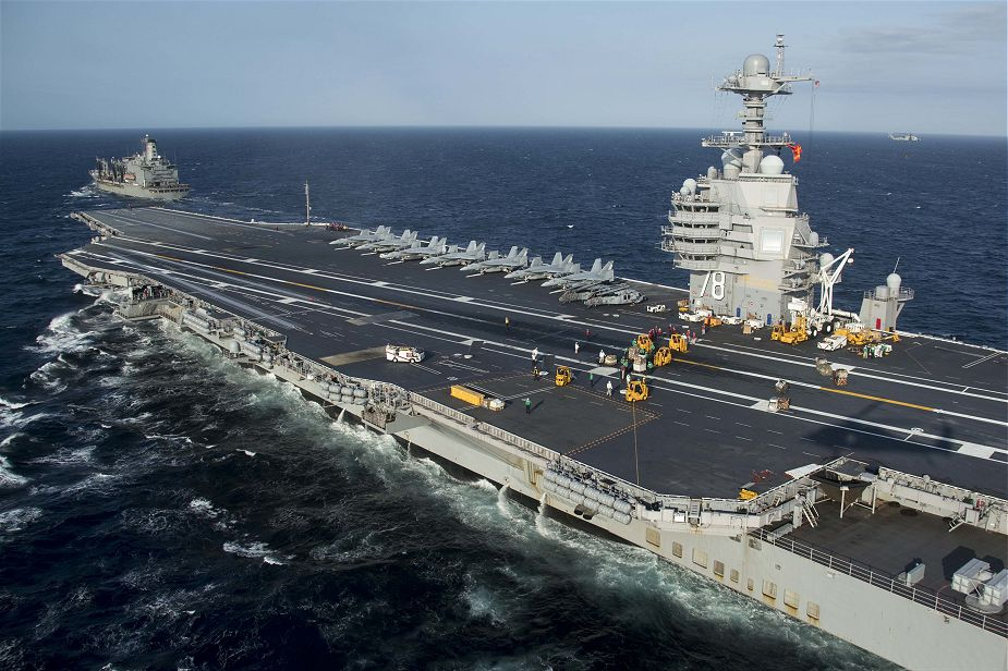 USS Gerald R. Ford : The biggest aircraft carrier in the world