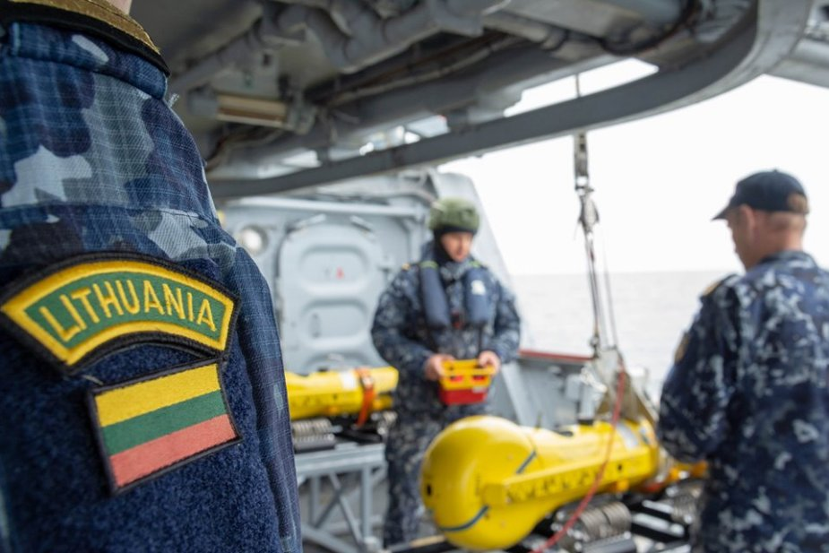 ECA GROUP equips Lituanian Navy with efficient ROV solution for sea mines clearance 925 002