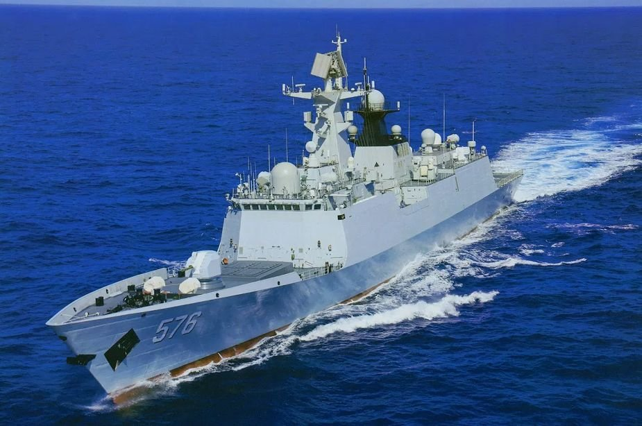 Keel Laying ceremony of second Type 054 AP frigate for Pakistan Navy held in China 925 001