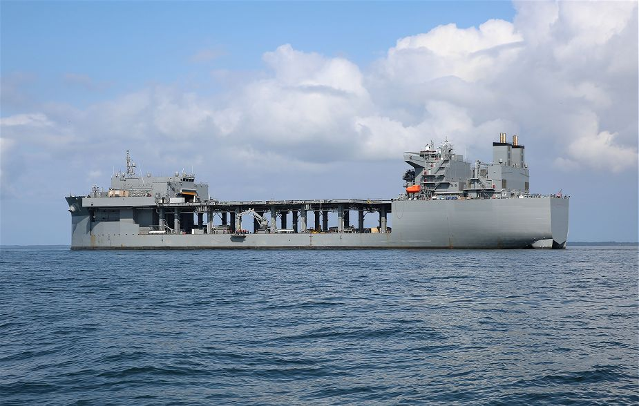 US Navy has commissioned USS Hershel Woody Williams ESB 4 Expeditionary Sea Base ship 925 001
