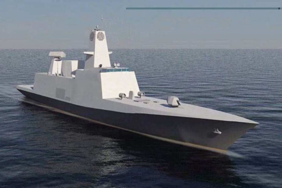 Keel laying ceremony of MDLs 3rd stealth frigate of Project 17A for the Indian Navy 925 002