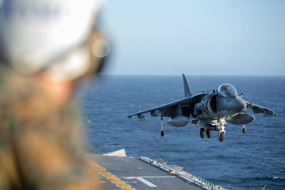 AV 8B Harrier II attack aircraft will stay operational with US Marine Corps until 2029 925 002