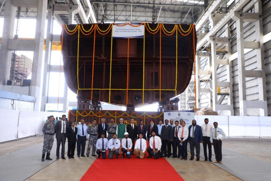https://www.navyrecognition.com/images/stories/news/2021/august/Lays_keel_for_the_first_Indian_Anti_Submarine_Warfare_Shallow_Water_Craft.jpg