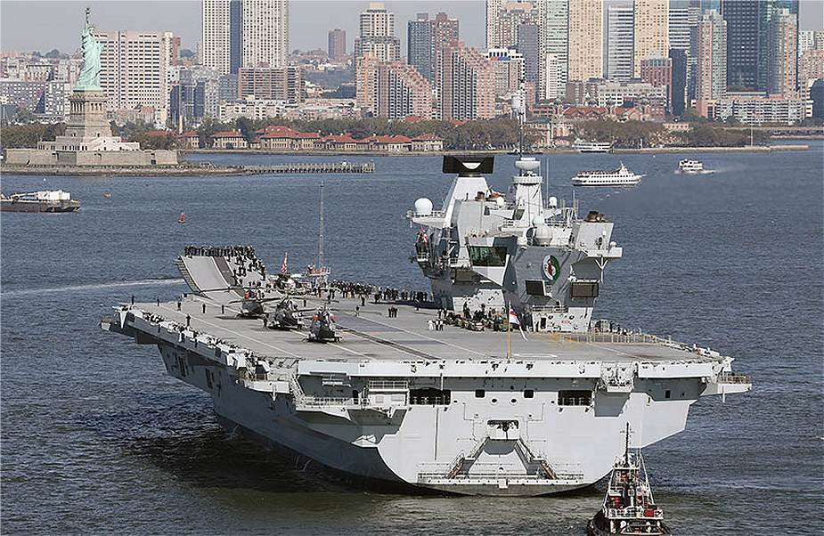 Queen Elizabeth aircraft carrier British Navy unveils components of its UK Carrier Strike Group UKCSG 925 001