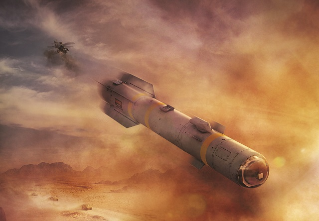 The U.S. Army and U.S. Navy awarded Lockheed Martin a $66.3 million contract for the Engineering and Manufacturing Development (EMD) phase of the Joint Air-to-Ground Missile (JAGM) program.