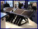 During Sea-Air-Space 2016, Boeing and its partner Liquid Robotics were showcasing the Sensor Hosting Autonomous Remote Craft (SHARC). The SHARC is based on Liquid Robotics' Wave Glider SV3, a unique wave and solar propelled 2 parts system (one on the surface, the other under water).