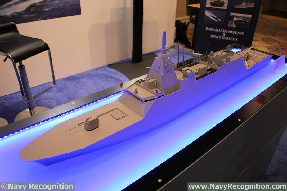 Japans MHI Showcasing 30DX Multi Mission Frigate Design 1