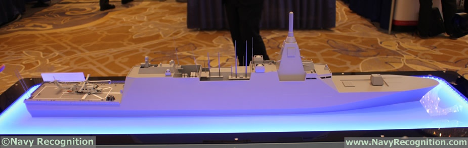 Japans MHI Showcasing 30DX Multi Mission Frigate Design 5