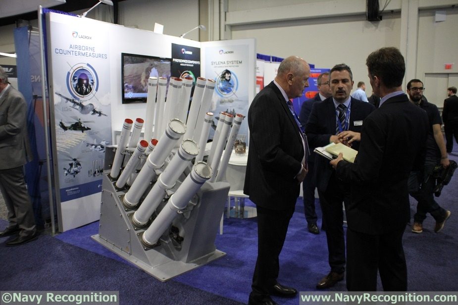 SAS 2018 Lacroix Ready to Provide its Decoy Launcher for LCS and FFGX
