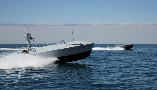 Textron Systems Unmanned Systems Common Unmanned Surface Vehicle (CUSV)