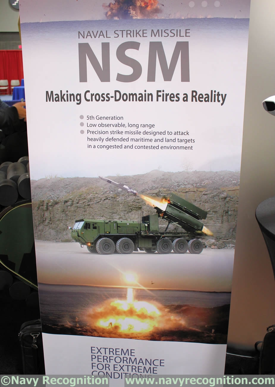Nsm Anti Ship Missile To Be Tested From U S Army Hemtt