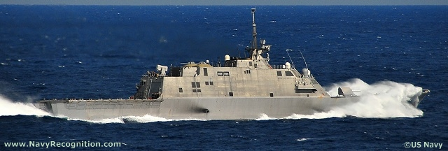 "The Freedom class of littoral combat ships (LCS) is Lockheed Martin's design proposal to the US Navy's requirement for the LCS class ships. The LCS concept emphasizes speed and modularity thanks to its flexible mission module spaces. According to US Navy, the LCS is ""envisioned to be a networked, agile, stealthy surface combatant capable of defeating anti-access and asymmetric threats in the littorals."""