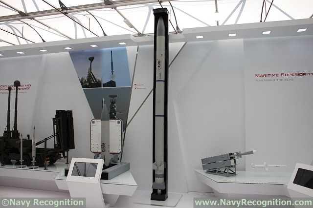 I n 2014, the New Zealand MoD signed a contract on behalf of the Royal New Zealand Navy for MBDA's Sea Ceptor to provide the future air defence element of its Frigate Systems Upgrade project for its two ANZAC class frigates, the HMNZ Te Kaha and Te Mana. At the end of the same year, Brazil also selected this soft vertically launched system to equip its four future new Tamandaré class corvettes. Deploying the new generation CAMM (Common Anti-air Modular Missile), Sea Ceptor is already creating a significant amount of export interest. In addition to its ability to counter the full range of current and future air threats, as well as certain surface targets, the fact that CAMM does not rely on dedicated tracker/illuminator radars but can be cued by the launch vessel's own standard surveillance radar, its ability, thanks to its folding fins, to maximise launch canister density and its soft launch technology allowing a greater degree of flexibility in terms of installation position all combine to make this an extremely relevant consideration for navies planning new builds or refits.