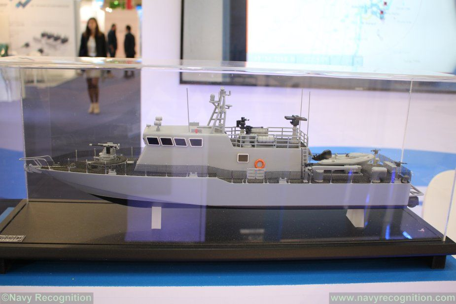 Israel Shipyards Shaldag class FPB family at Euronaval 2018 001