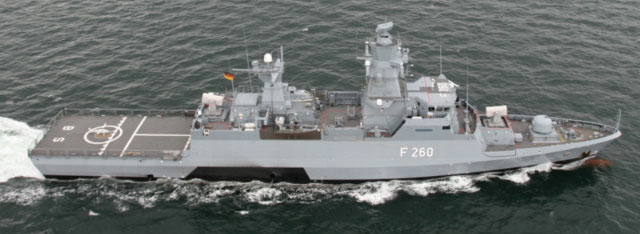 K130 Braunschweig Class Corvette - German Navy