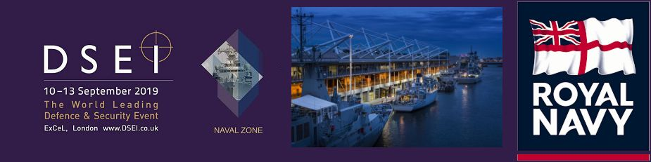 DSEI 2019 Naval Zone defense maritime exhibition London United Kingdom News Show Daily banner 925 001
